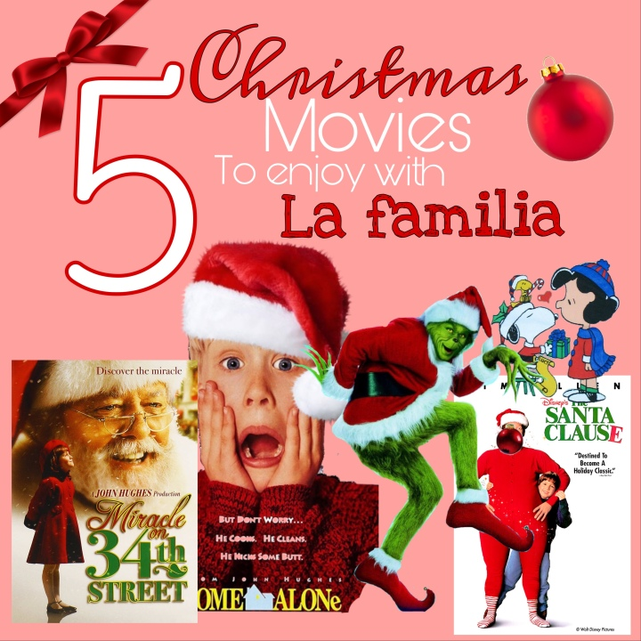 5 Christmas Movies para disfrutar enfamilia