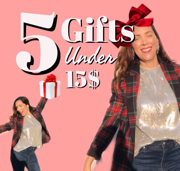 5 Gifts Ideas under15$