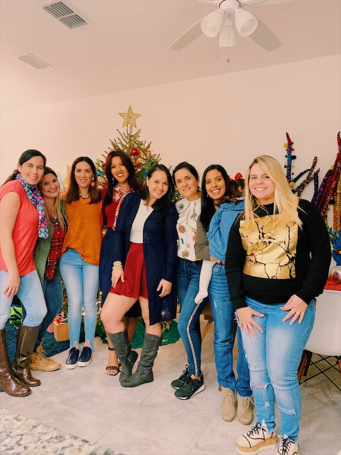 Celebrando la navidad entreBloggers
