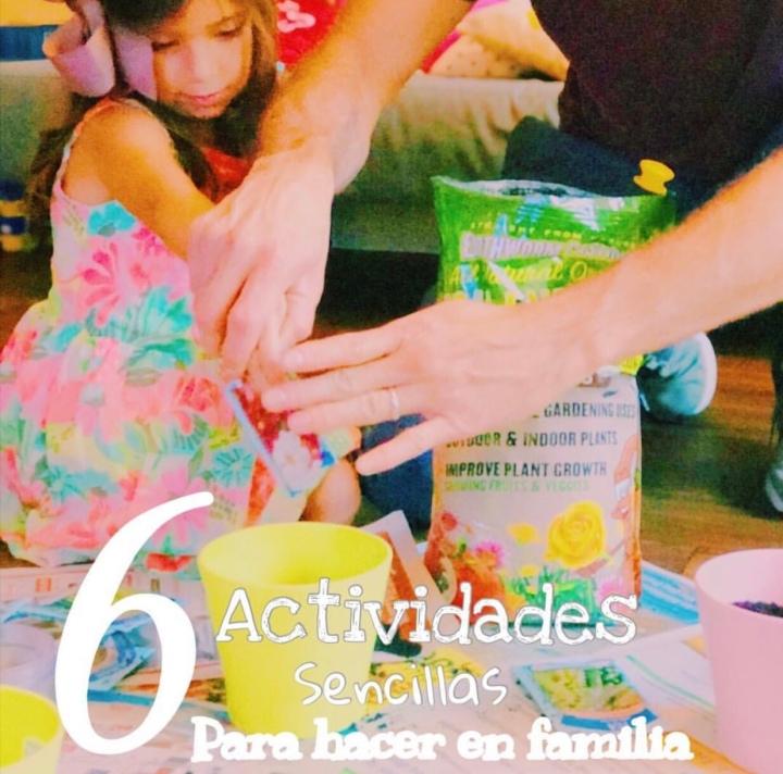 6 Actividades para hacer enFamilia