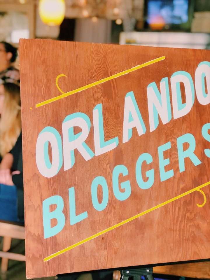1st Chapter of the year with The OrlandoBloggers