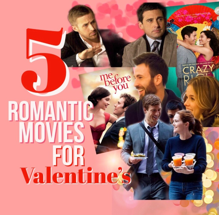 5 Romantic Movies for Valentine's