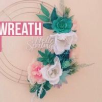 DIY Spring Wreath under 6 $