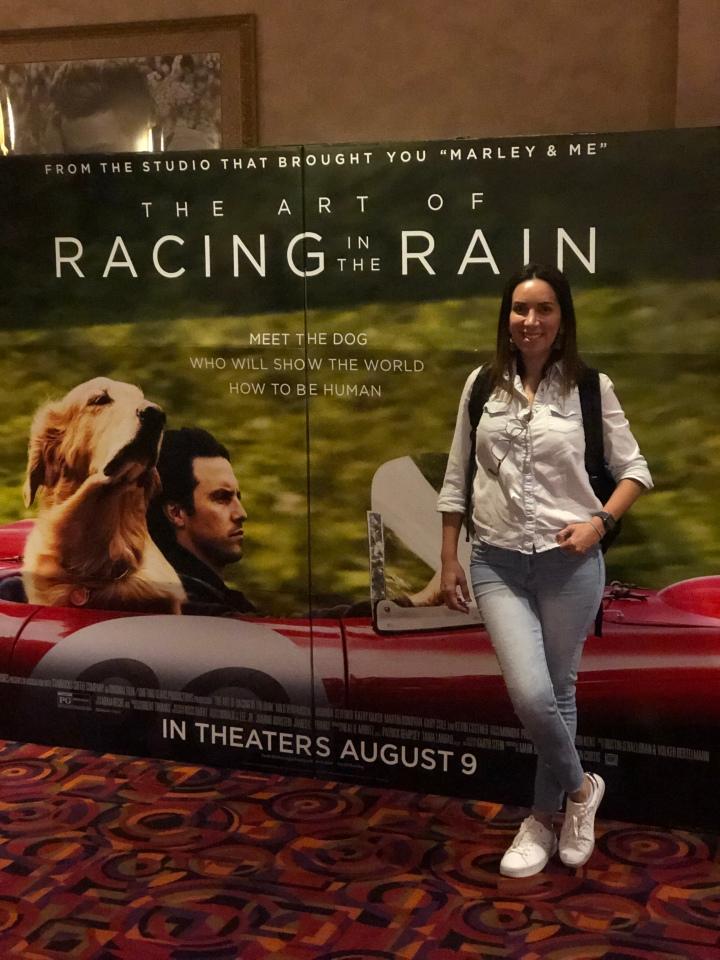 The Art of Racing in the Rain (moviepre-screen)