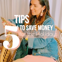 5 Típs to save money for the Holidays
