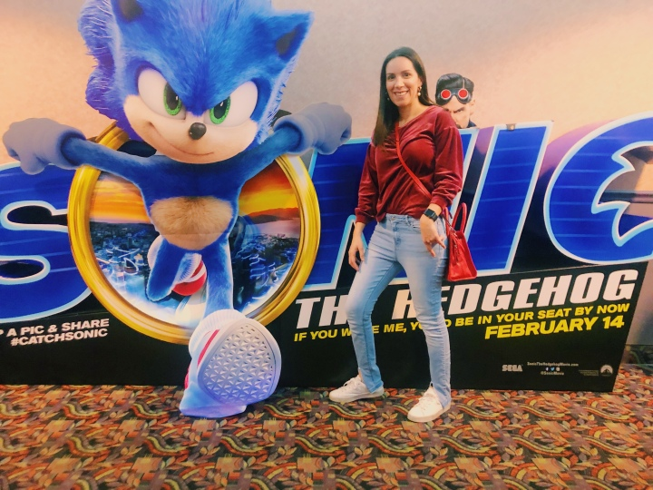 Sonic The HEDGEHOG Pre Estreno.