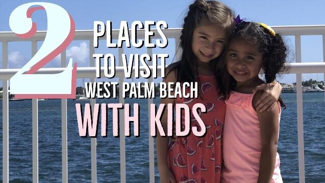 2 sitios que debes visitar en West Palm Beach conniños.