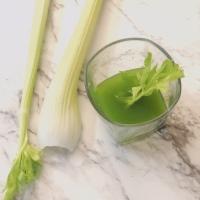 Jugo de celery para mi Rosácea