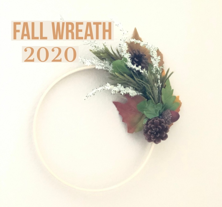 Fall wreath modern
