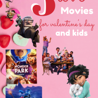 5 Love Movies for Valentine's Day for kids