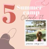 5 Summer Camp en Orlando